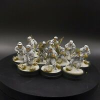 Well Painted 28mm Bolt Action Soviet Infantry rifle squad #4 Ww2 Warlord Games