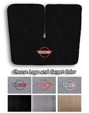 1984-1996 Chevrolet Corvette C4 Carpet Cargo Mat - Choose Color & Official Logo