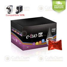 Pop Caffè 100 Capsule Cialde Compatibili Mitaca Mps Forte Supremo Cremoso E-Tuo
