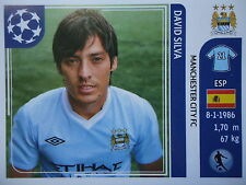 PANINI 51 David Silva Manchester City UEFA CL 2011/12