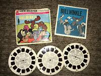 Bullwinnkle B515 Viewmaster Reels Vintage 3 Reels GAF
