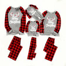 De mujer Hombres Pijama para Dormir Pijama Conjunto de Navidad a juego de la familia Navidad Pijamas