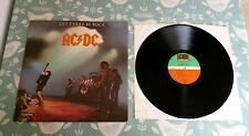 AC/DC Let There Be Rock 1980s Euro LP VG/Ex Classic Hard Rock