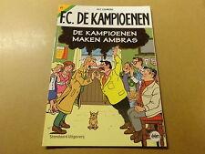 STRIP / F.C. DE KAMPIOENEN 61: DE KAMPIOENEN MAKEN AMBRAS | 1ste druk