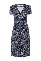 NWT Diane von Furstenberg New Julian Two 'Ribbon Weave Mini' Wrap Dress $398