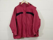 MAINE - Women's Waterproof Coat - Size 20 - Pink - Hooded - Thick - Lined