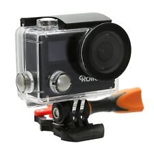 Rollei Action Cam 430 Wifi Camcorder with 4K, 2K, Full HD, Slow-Motion Black