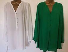V Neck Checked Blouses Singlepack Tops & Shirts for Women