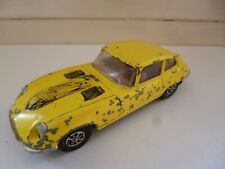V12 Jaguar E Type 2+2 - Whizz Wheels - Yellow - 1985 - Corgi - GT Britain
