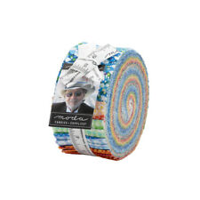 """Moda Dreamscapes Jelly Roll Fabric Ira Kennedy 40 2.5x44"""" Quilting Strips Kit"""
