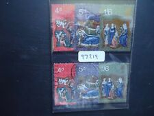 GB 1970 Christmas (2 Sets) (SG 838-840) MNH & Used (97219)