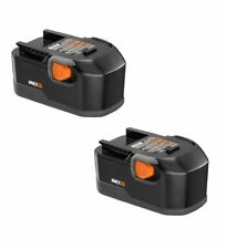 Ridgid R8411503 Drill Replacement 18-Volt NiCad MAX 2.5 Ah Battery (2-PACK) #...