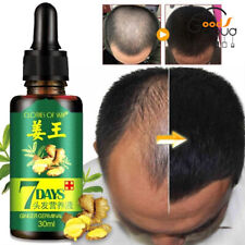 Natural ReGrow 7Days Ginger Germinal Serum Essence Oil Hair Loss Treatement 30ml