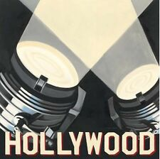 Marco Fabiano: Hollywood Imagen TERMINADA 30x30 Mural CINE PELÍCULA Decoración