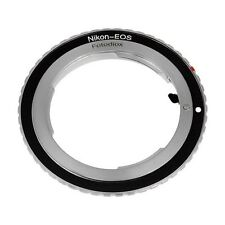Professional Camera Lens Mount Adapter, Nikon F to Canon EOS EF EF-S EOS 7D 5D..