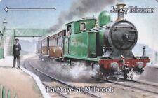 (21706) Phonecard GB Jersey Telecoms Trains La Moye at Millbrook