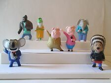 McDonalds Sing Complete set of 7 Happy Meal Toys Meena Rosita Ash Crawly Johnny