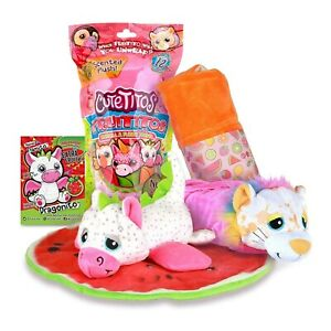 Cutetitos Scented Fruititos with a Furry Friend Series 4 Collectable Soft Toy