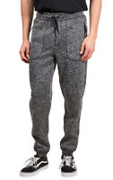 Brooklyn Surf Men's Cozy Knit Fleece Jogger Pants, Black Marl Gray, S M L XL XXL