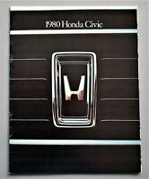 ORIGINAL 1980 HONDA CIVIC PRESTIGE SALES BROCHURE ~ 18 PAGES ~ 80HCP
