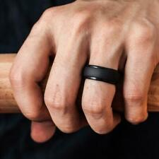 Thunderfit Silicone Ring Men 4 Rings /1 Ring Step Edge Rubber Wedding select Opt
