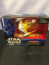 Star Wars Episode 1 Naboo Starfighter w/ Anakin Skywalker Nib Galoob 1998