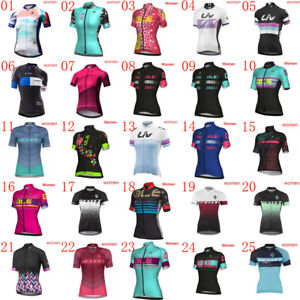 2019 New cycling jersey womens bike clothes short sleeve MTB shirts bicycle tops