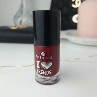 Essence I Love Trends Nail Polish N° 13 RUDOLPH'S FAVORITE Dunkel Rot Burgunder