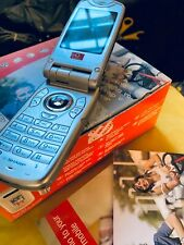 Sharp GX30 - Metallic Silver Mobile Phone - boxed sold as seen collectable