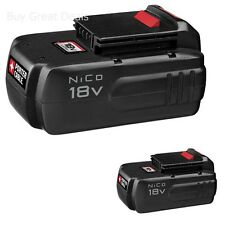 Porter Cable PC18B Battery Pack, 18 Volt NiCd Cordless Rechargeable Battery New