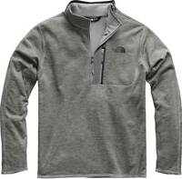 The North Face Canyonlands 1/2 Zip Fleece (Medium Gray Heather)