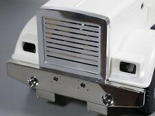 Aluminum Front Grill Billet Grille Guard Mesh Tamiya 1/14 Semi King Grand Hauler
