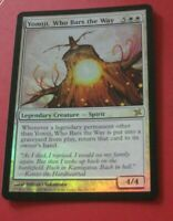 1x FOIL Yomiji Who Bars the Way, LP, Betrayers of Kamigawa, Commander EDH Legend