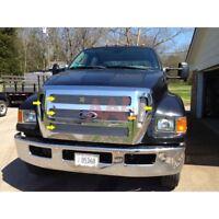 AAL 2004-2008 2009 2010 2011 2012 Ford F-650 & F-750 Upper Billet Grille Insert