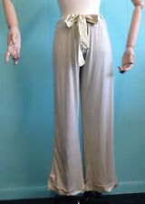 Bamboo Long Pajamas Pants Super Soft Small - Sweetgrass Color NEW Clearance
