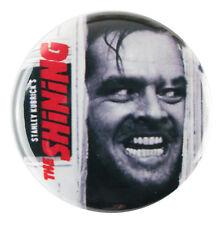 "1"" (25mm) The Shining Jack Nicholson Button Badge Pin - Custom Badge"