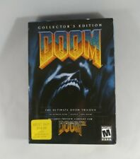 BRAND NEW SEALED Doom Collectors Edition Trilogy Ultimate II Final 95 2000 XP