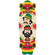 New Flip Cheech and Chong Rasta Cruzer Complete Skateboard - 27.7in x 8.8in