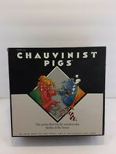 Chauvinist Pigs Adult Boardgame open box SEALED contents