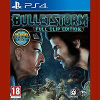 BULLETSTORM FULL CLIP EDITION - PlayStation 4 PS4 ~18+ Resealed!
