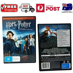 HARRY POTTER AND THE GOBLET OF FIRE - USED REGION 4 DVD (2 DISC SET) - Like New