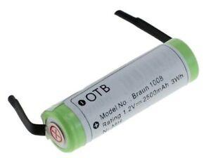 Braun Philips Remington Batterie Rasierer Zahnbürste 1.2V 250mA 1008 HX5350