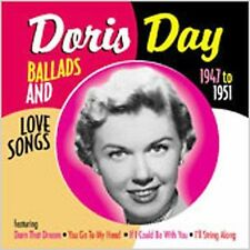 DORIS DAY - Ballads and Love Songs From the Early Years: 1947-1951-New Sealed CD