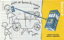 Buvard Vintage  NAB Mains Nettes Mains Propres   A T Saint-Gilles Paris