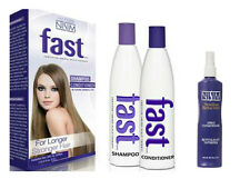 FAST HAIR GROWTH SHAMPOO & CONDITIONER NO SLS PARABEN FREE + LEAVE IN TREATMENT