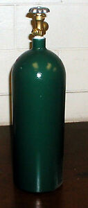 20 CF Welding Cylinder Tank Bottle for OXYGEN - Brand New (20CF-540)
