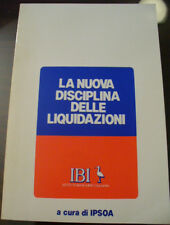 (PRL) ANTIQUE RARO 1983 LIBRO LIVRE ANTICO VINTAGE IBI DISCIPLINA LIQUIDAZIONI
