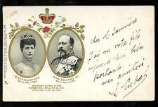 Royalty Queen Alexandra King Edward VII 1902  Tuck Empire u/b PPC