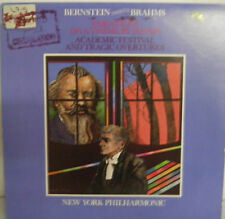Bernstein Conducts Brahms Variations On The Theme Haydn Tragic Overtures record