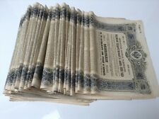 EMPRUNT IMPERIAL RUSSE OBLIGATION DE 187.50 ROUBLES 5% 1906 , X 50 AVEC COUPONS